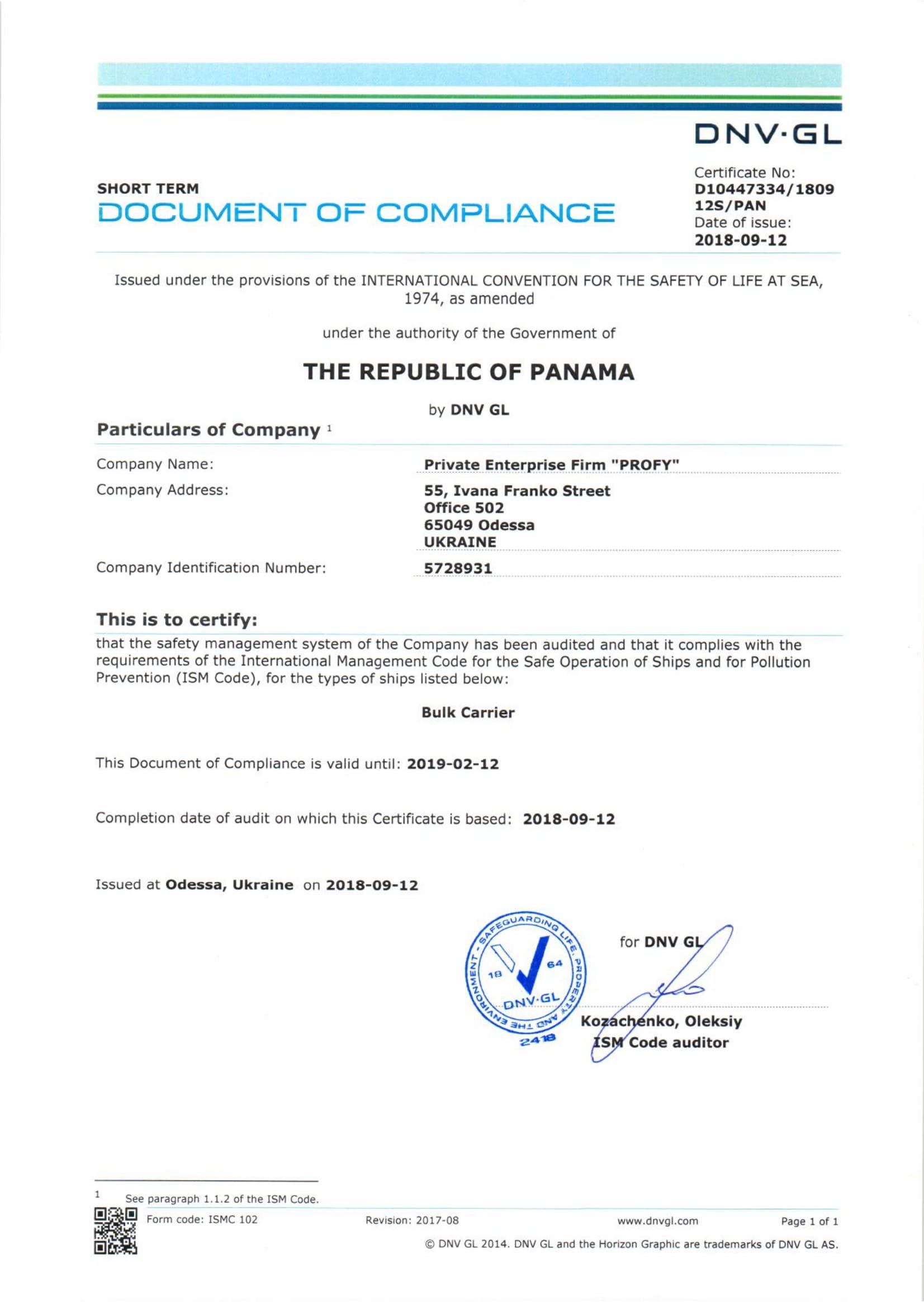 DOC Panama