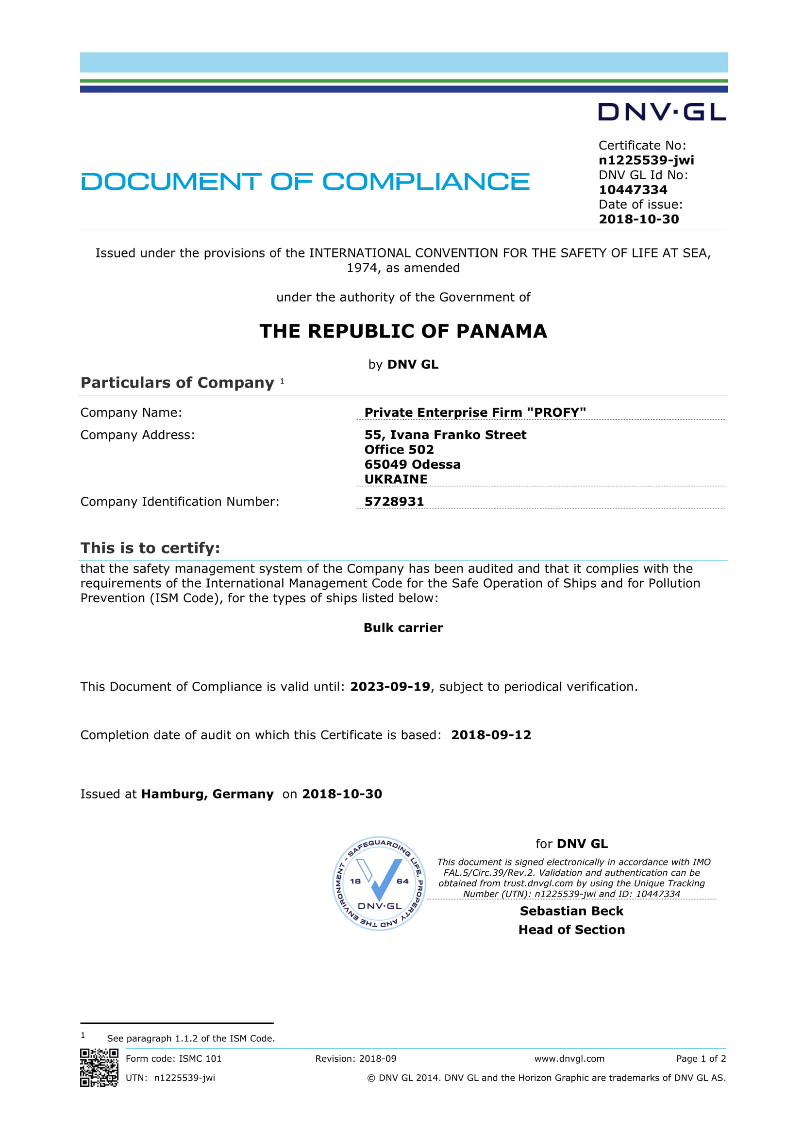 PANAMA DOC-1